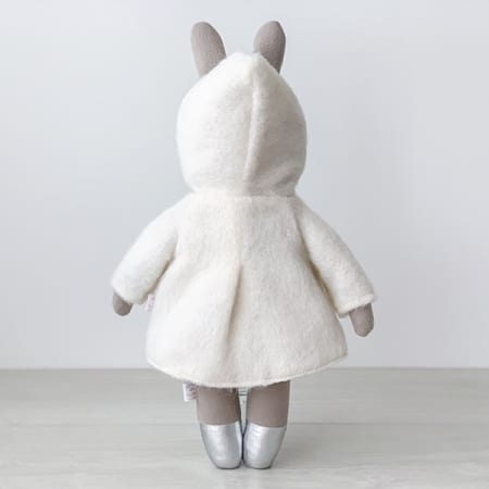 bunny doll winter coat heirloom doll