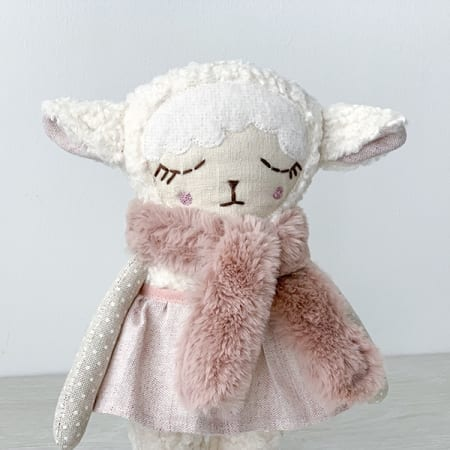 cute handmade lamb lulu mini dolls clothes Irish handmade