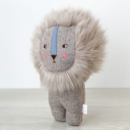 handmade Lion Cute soft toy lion - unique lion
