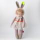 bunny Girl ballerina rag doll tutu pretty heirloom