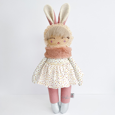 personalised doll handcrafted in ireland